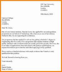 7 sample recommendation letter for students art resumed