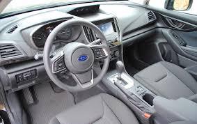 subaru impreza interior 2017 2017 subaru impreza 2 0i premium test drive review autonation