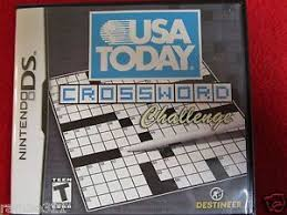 Challenge Usa Today Usa Today Crossword Challenge Nintendo Ds Dsi 2ds 3ds Nds