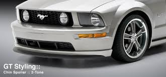 2009 ford mustang accessories 2005 2009 mustang 3d carbon gt only chin spolier paint options