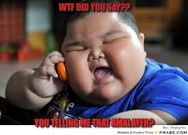 How Do You Say Memes - wtf did you say fat baby meme generator captionator