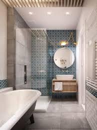 si e de bain pour b une salle de bains moderne effet carreaux de ciment chez philippe à
