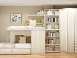 furniture tall white wooden narrow bookcase with drawers and
