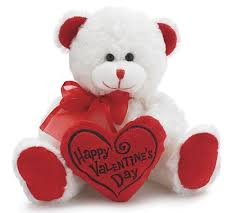valentines day stuffed animals happy s day 8 animal plush white with