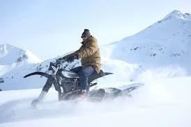 motocross snow bike husqvarna nl500 snow bike by husky restorations bikes pinterest