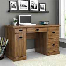 Small Wood Computer Desk With Drawers Furniture White Gloss Computer Desk Black And Brown Desk