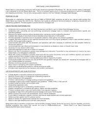 Underwriter Job Description For Resume by 100 Underwriting Resume Resume For Financial Advisor