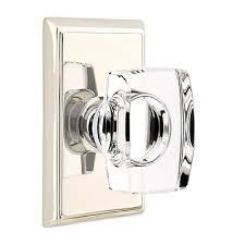 Emtek Glass Cabinet Knobs Emtek Windsor Crystal Door Knob Set Low Price Door Knobs