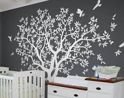 tree wall decal nursery large tree wall decal wall mural