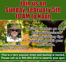 Dave Wilson Nursery Backyard Orchard by H U0026h Gardening Newsletter February 2 2017