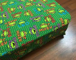 Ninja Turtle Bedding Ninja Turtles Crib Etsy