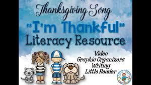 i m thankful a thanksgiving song for elementary children