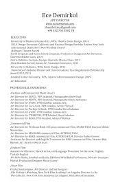 Production Designer Art Director Set Design And Scenic Art Resume U2014 Ece Demirkol