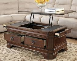 coffee table glamorous lift top coffee table with storage drawers
