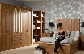 Premier Porto Wardrobe Doors In Medium Walnut By HOMESTYLE - Bedroom cupboard doors