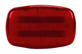 magnetic base strobe light led red strobe light 18 leds battery powered dual magnetic