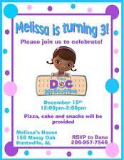 doc mcstuffins greeting cards and invitations ebay