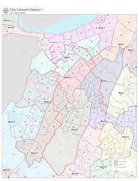 City Of Boston Map by Map Of District 7 D7 Boston