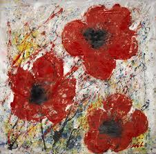 dominic pangborn u0027s poppy flower paintings