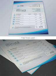 best invoice templates indesign psd docx designsmag org