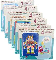 paper craft handmade greeting cards assortment set for every