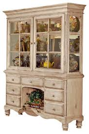 wilshire buffet and hutch farmhouse china cabinets and hutches