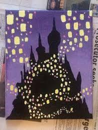 light rapunzel painting disney artwork tangled