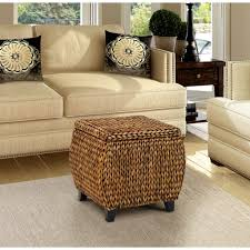 Pouf Coffee Table Outdoor Chair And Ottoman Set Rattan Coffee Table Sling