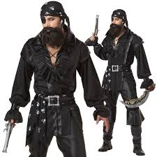 gangster halloween costumes for men plundering pirate costume