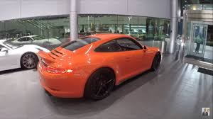 orange porsche 911 convertible 2016 lava orange porsche 911 carrera gts 430 hp porsche west