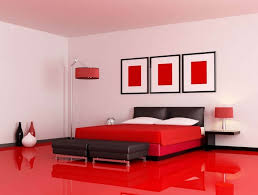 Decorating With Red Accents  Ways To Rock The Look - White and red bedroom designs