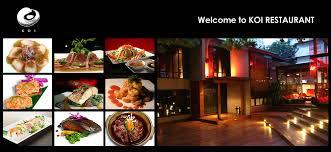 cuisine restaurant koi restaurant