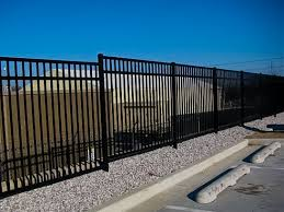 montage ii industrial and commercial ornamental steel fence
