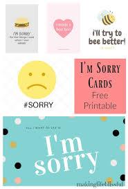 sorry cards 10 ways to say i m sorry free printable apology cards