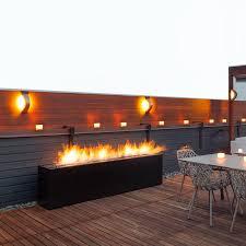 komodo outdoor fireplace paloform