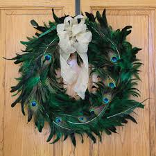turkey feather wreath feather wreaths decor feather products