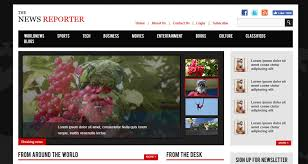 20 free news website templates to share news as they happen