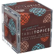 Dinner Party Question Games - original edition conversation starters tabletopics