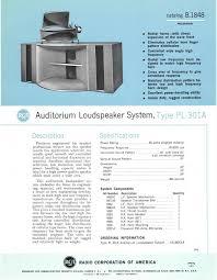 rca 80 watt home theater speaker system retro vintage modern hi fi rca theater bass horn ubangi or mi 9462