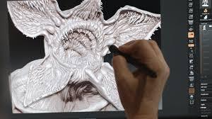 the visual effects behind stranger things u0027 monster formlabs