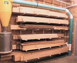 Wood Storage Rack Plans by Building A New Shop Construction