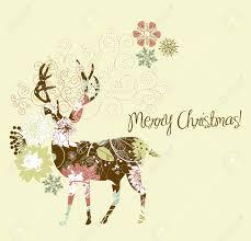 christmas deer christmas deer royalty free cliparts vectors and stock