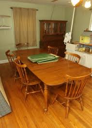 Ethan Allen Maple Chairs Thesecretconsulcom - Ethan allen maple dining room table