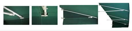 Sliding Door Awning Canvas Door Awnings High Quality Made With Sunbrella Fabric Pyc