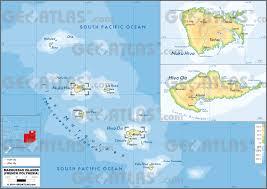 Guam On World Map Geoatlas Dependencies Overseas Marquesas Islands Map City