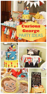 curious george party ideas curious george birthday party supplies 3 best birthday resource
