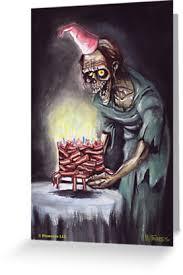 Zombie Birthday Meme - happy zombie bacon birthday zombie zombies bacon