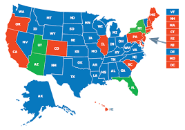 Map Of Arizona And Utah by Multi State Ccw Class Firearms Training Of Wny