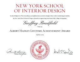 bradfield u0026 tobin luxury interior design awards u0026 honors