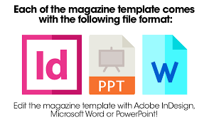 premium magazine templates strikingproduct com